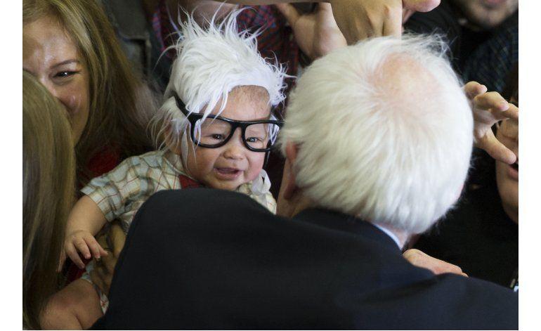 Muere bebé sensación en redes sociales por foto con Sanders.
