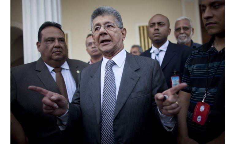 Oposición en Venezuela impulsará referendo revocatorio