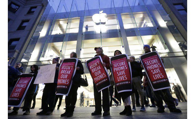 Industrias tecnológicas y de seguridad respaldan a Apple