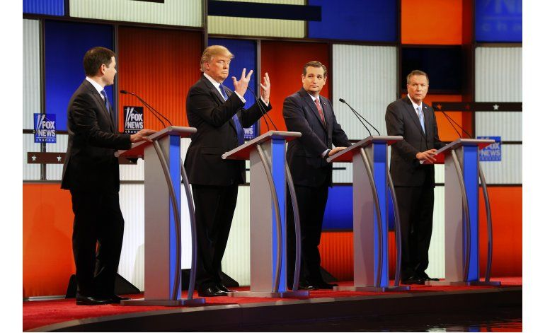 Rivales de Trump dicen que lo apoyarían si logra nominación