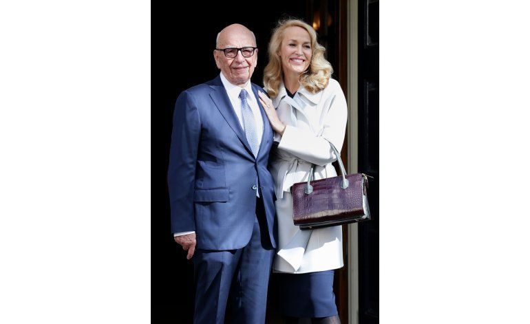 Rupert Murdoch y Jerry Hall se casan en Londres