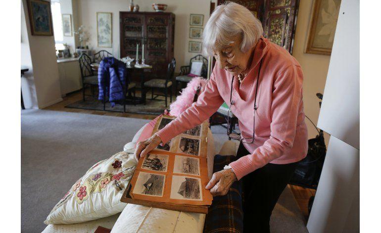 Con 100 años, enfermeras de 2da Guerra Mundial siguen amigas