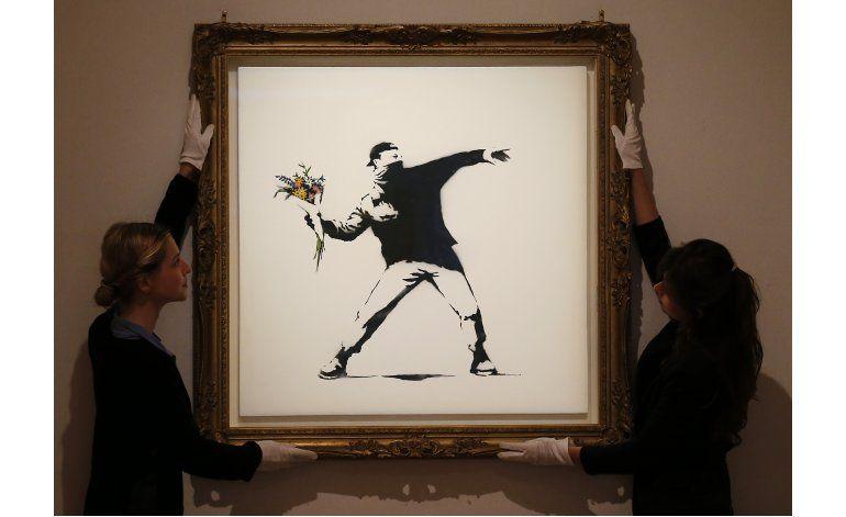 Científicos usan matemáticas para identificar a Banksy