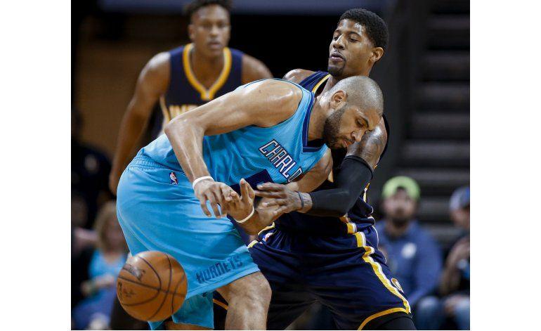 Walker y Batum conducen victoria de Hornets sobre Pacers