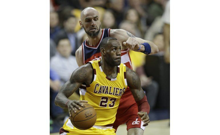 Los Cavaliers se cobran revancha de Washington