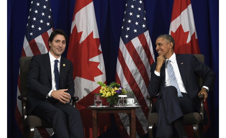 El líder canadiense trae poder de estrella a la Casa Blanca