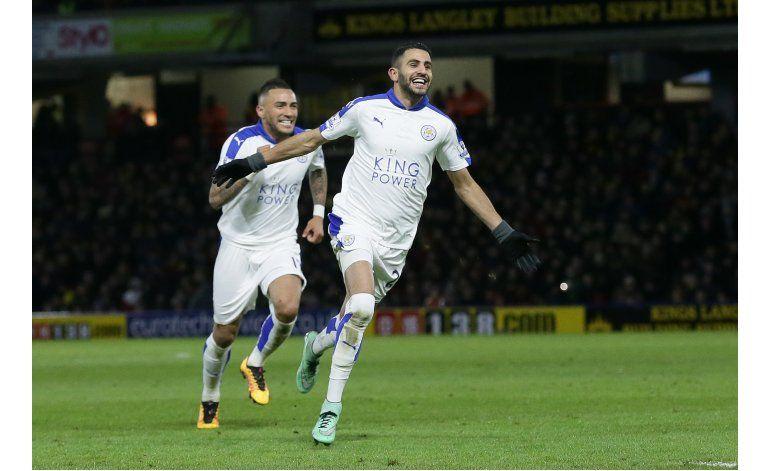 Leicester gana y se aleja a 5 puntos en la Premier