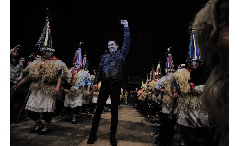 Miles celebran liberación de líder proindependentista vasco