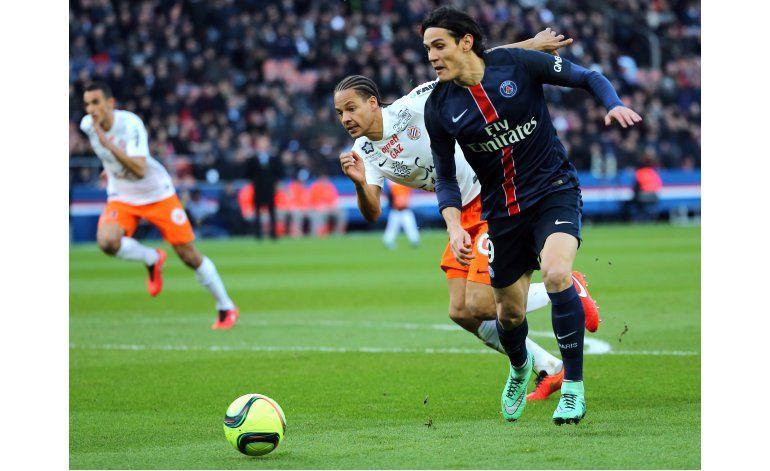PSG empata sin goles contra Montpellier