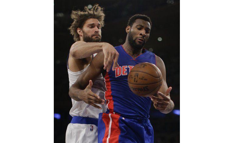 Knicks despiertan en último cuarto para vencer a Pistons