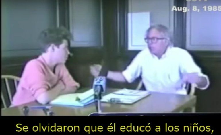 Bernie Sanders en 1985: Fidel Castro educó a los niños, les dio salud, transformó la sociedad