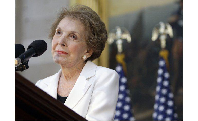 Fallece la ex primera dama de EEUU Nancy Reagan
