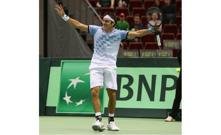Argentina avanza a cuartos en la Copa Davis