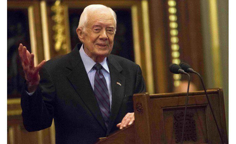 Jimmy Carter no necesita ya tratamiento contra el cáncer