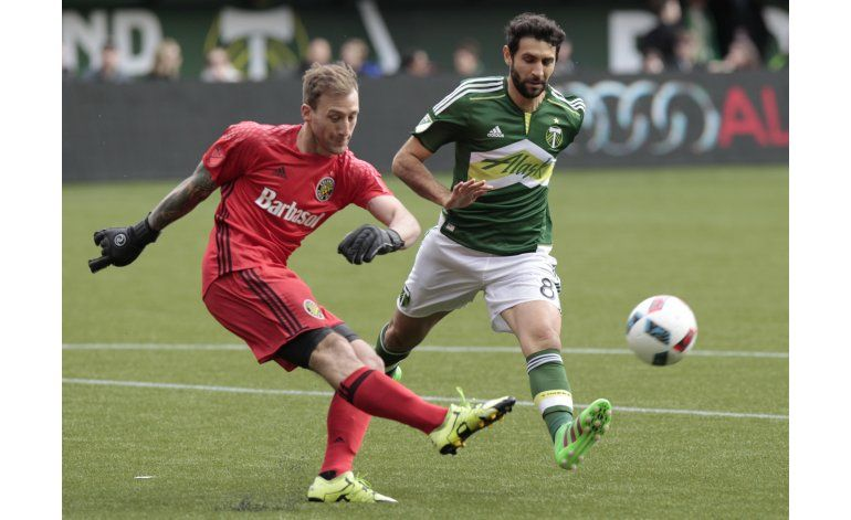 Portland vence de nuevo al Crew, al iniciar campaña de MLS