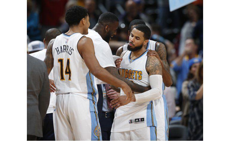 Con tiros libres y en prórroga, Nuggets vencen a Mavs