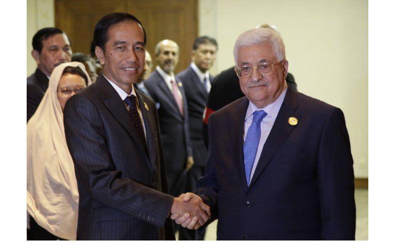Presidente indonesio pide unidad musulmana sobre Palestina