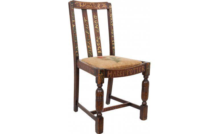 A subasta la silla de autora de Harry Potter