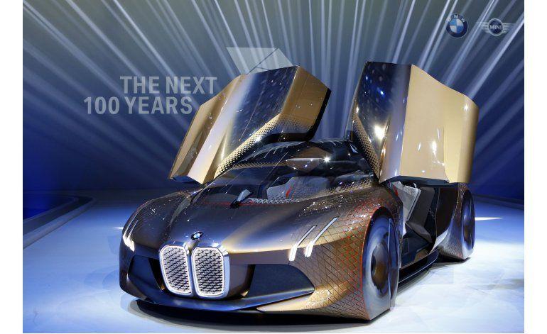 BMW muestra su coche concepto autónomo