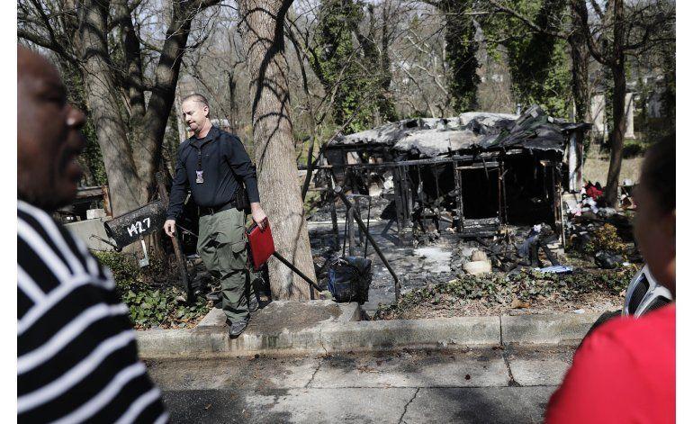 Mueren seis al incendiarse casa de huéspedes en Atlanta