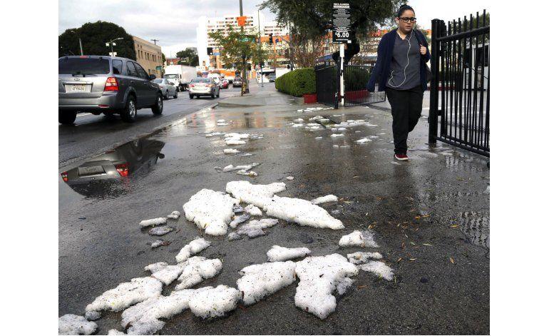 Poderosas tormentas azotan California