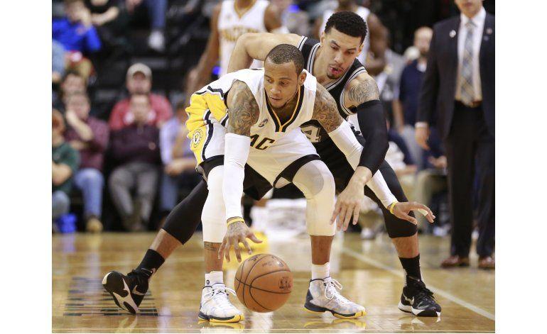 Pacers sorprenden y derrotan 99-91 a los Spurs