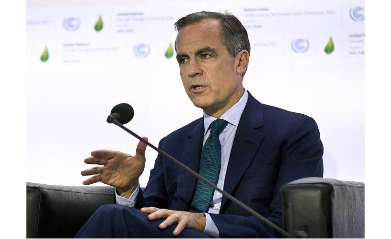 Jefe del Banco de Inglaterra: sería un riesgo salir de la UE