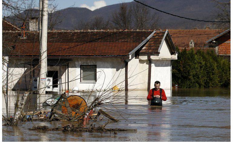 Serbia declara medidas de urgencia por inundaciones