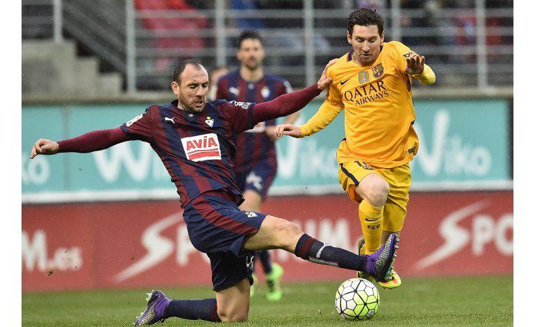 Messi supera a Ronaldo como jugador de la semana