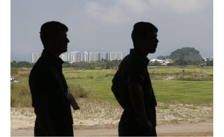 Se realiza torneo de prueba en campo olímpico de golf en Río