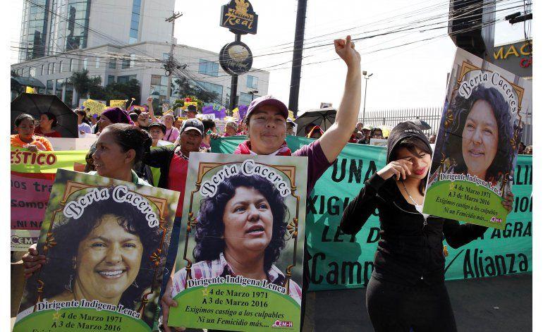 Denuncian fallas en investigación asesinato Berta Cáceres