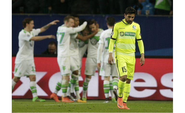 Campeones: Gol de Schuerrle da a Wolfsburgo pase inédito