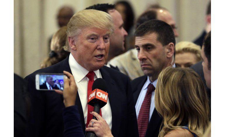 Trump pide a partido republicano aceptar su candidatura