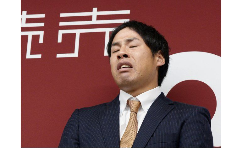 Pitcher japonés admite haber apostado en partidos