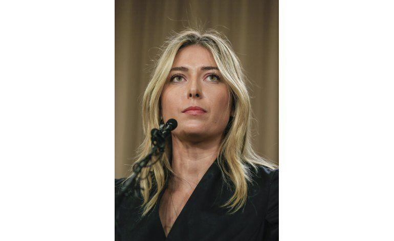 Pound: Sharapova cometió negligencia intencional en dopaje