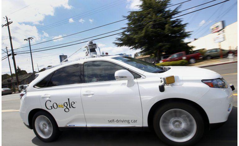 Video muestra choque de vehículo de Google
