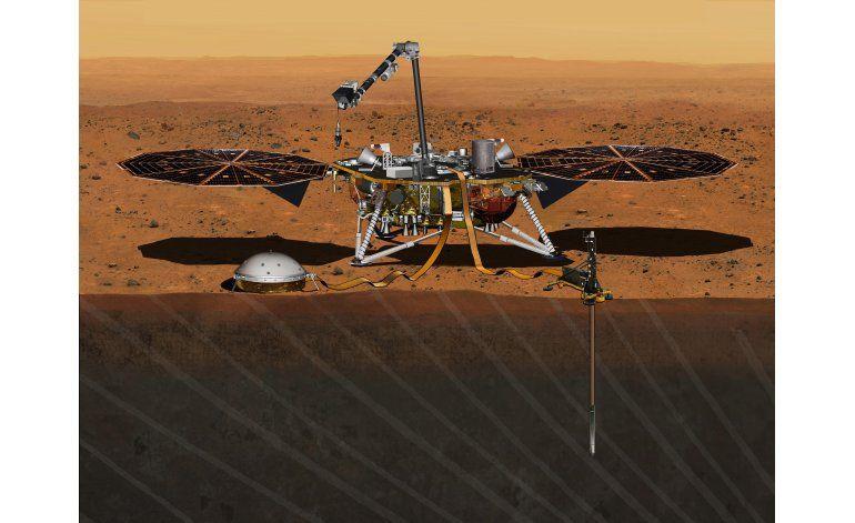 NASA vuelve a apuntar al planeta Marte en 2018
