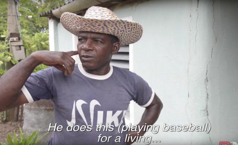 Habla desde Cuba el padre de Yoenis Céspedes