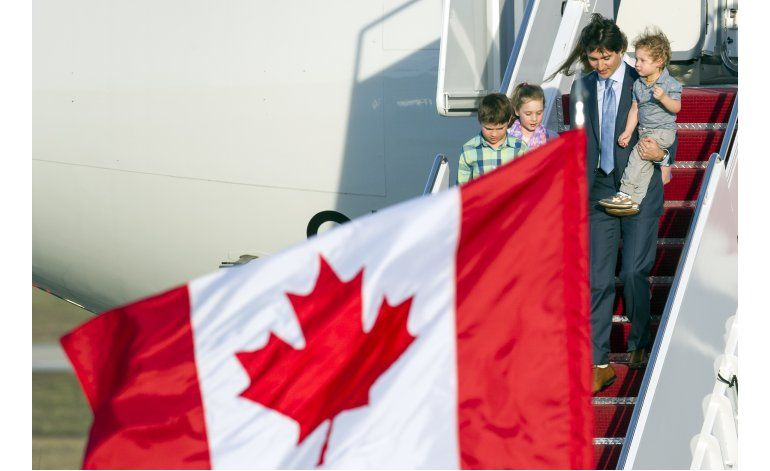 Primer ministro canadiense Justin Trudeau llega a Washington
