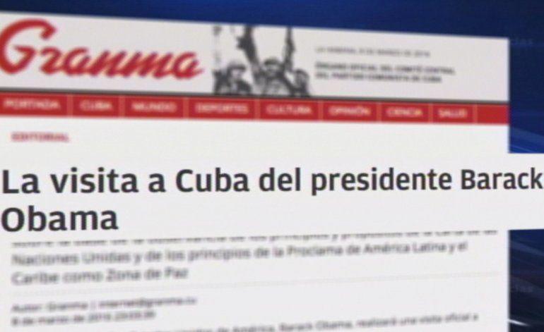 Fuertes reacciones tras editorial del periódico Granma a la visita de Obama a Cuba