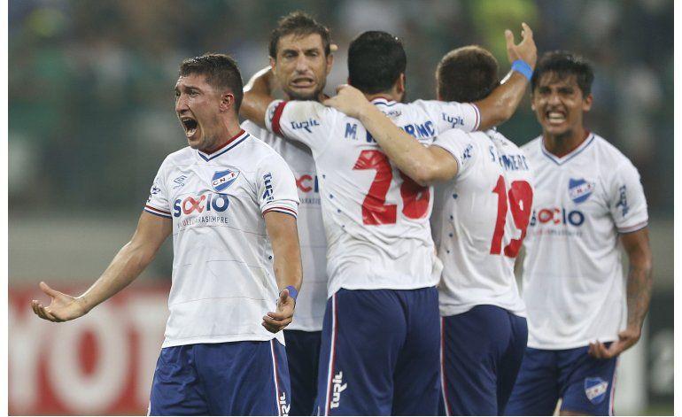 Libertadores: Nacional vence a domicilio 2-1 a Palmeiras