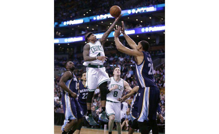 Celtics siguen imparables en casa; ganan 116-96 Grizzlies