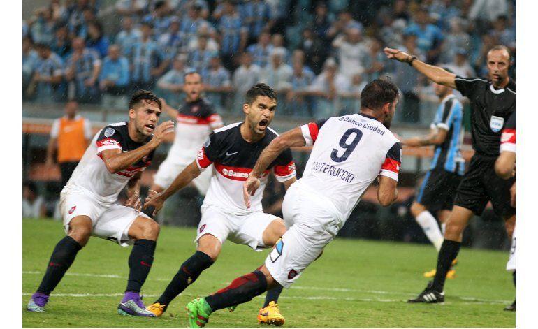 Libertadores: Gremio y San Lorenzo empatan 1-1