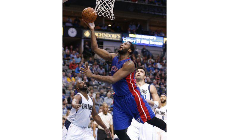 Morris y Drummond llevan a Pistons a vencer a Mavericks