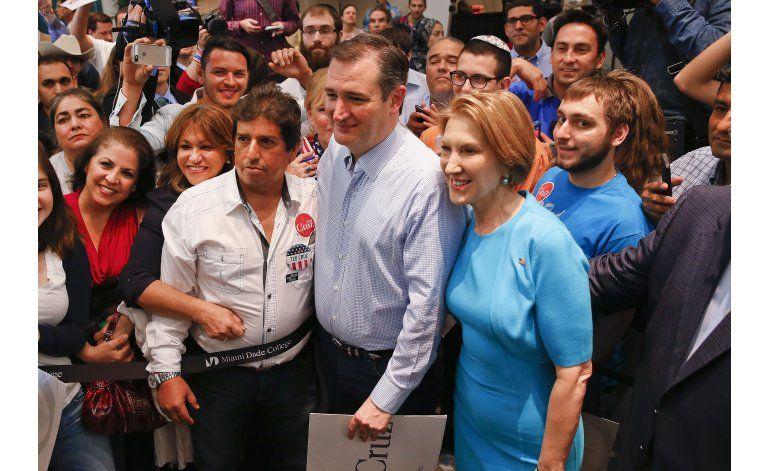 Republicanos empiezan a alinearse detrás de Cruz