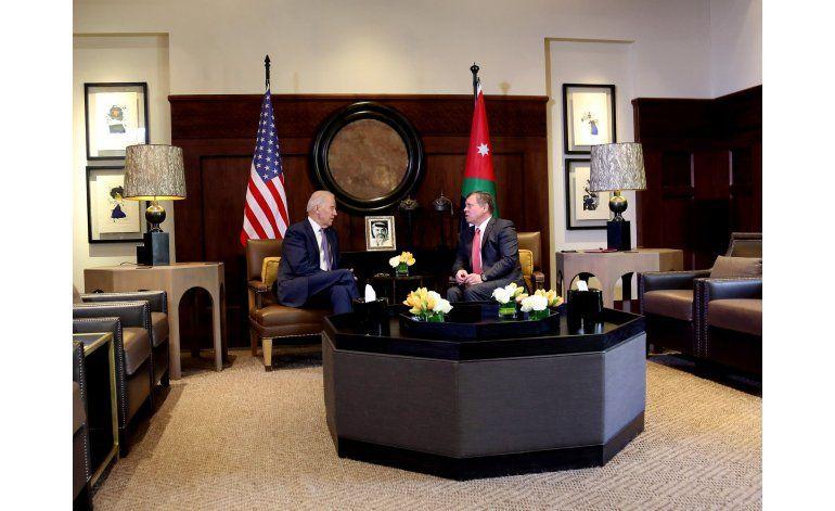 Biden se reúne con rey de Jordania, aliado en Oriente Medio
