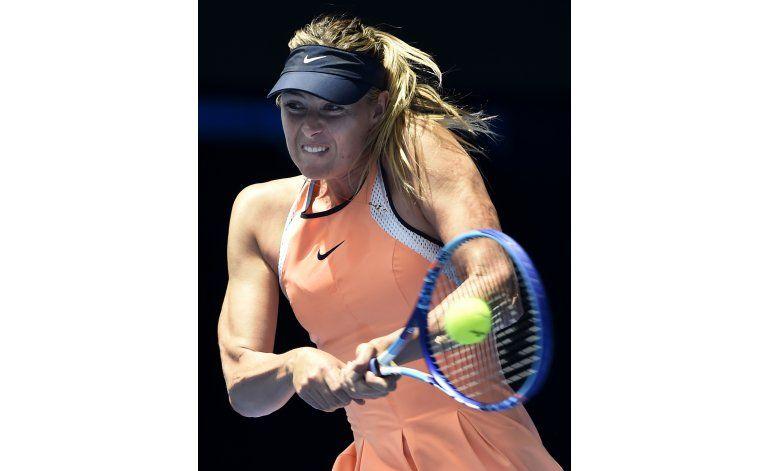 Patrocinador de raqueta respalda a Sharapova