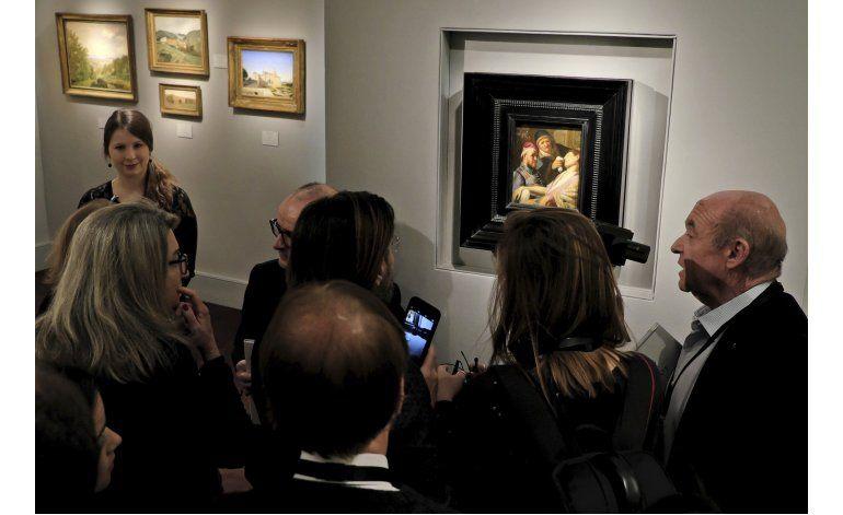 Galería francesa presume nuevo Rembrandt en feria de arte