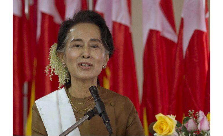 Aung San Suu Kyi no será presidenta de Mianmar