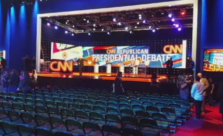 Cuatro precandidatos presidenciales republicanos se enfrentan en un nuevo debate en la Universidad de Miami